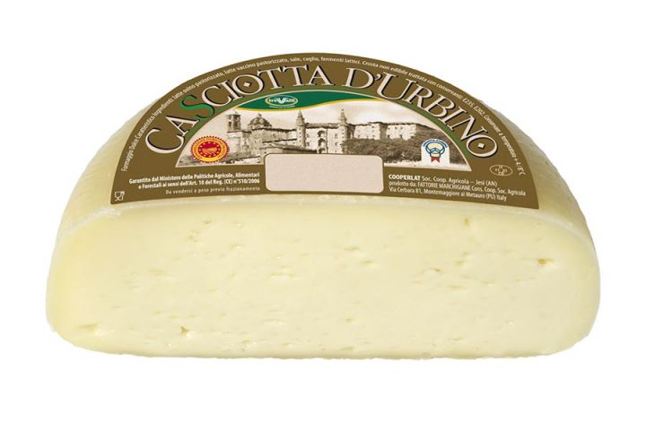 Casciotta of Urbino Cheese P.D.O.
